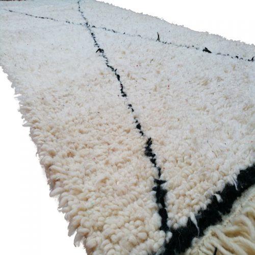 Beni Ouarain Wool Rug 6'3″x3′