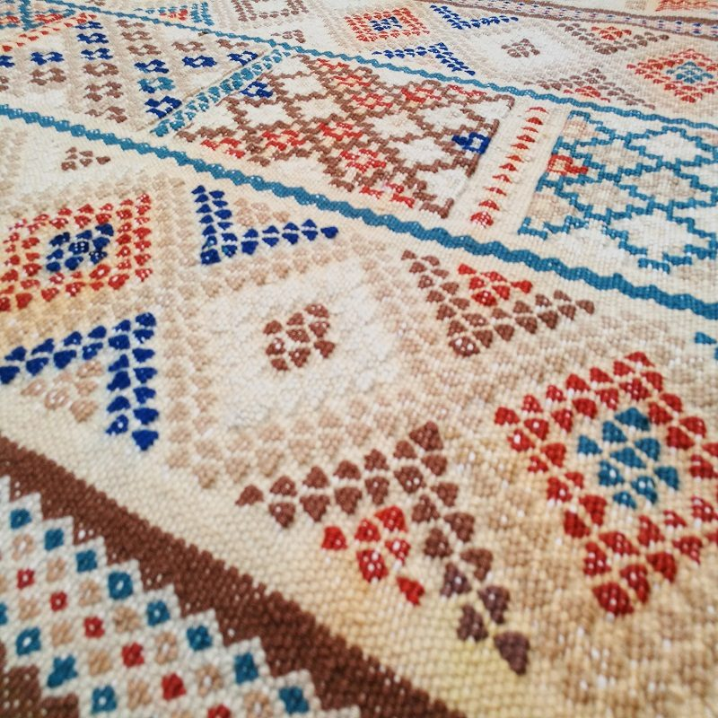Multicolor Vintage Kilim Rug 353