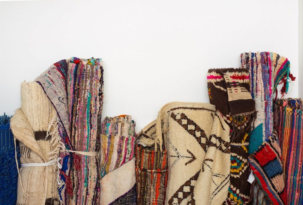 Various types of Moroccan Rugs at craftic.net