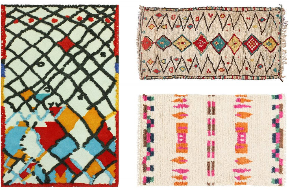 Moroccan Berber rugs at craftic.net
