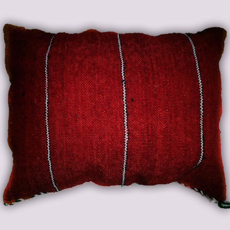 Red Berber Kilim Pillow at craftic.net 1