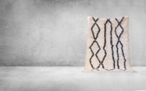 Wool Berber carpet